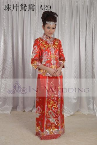 InWedding chinese wedding dress 15