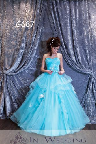 InWedding evening dress G687