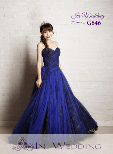 InWedding evening dress G846A