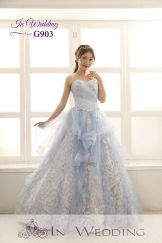 InWedding evening dress G903A
