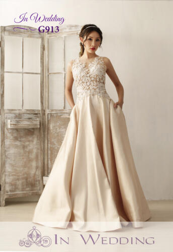 InWedding evening dress G913A