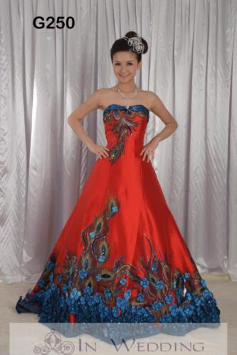 InWedding evening dress G250B