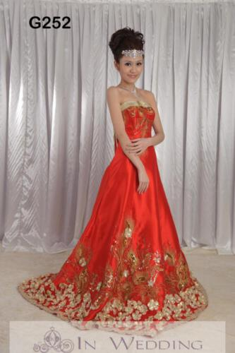 InWedding evening dress G252B