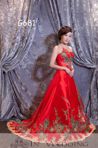 InWedding evening dress G681B