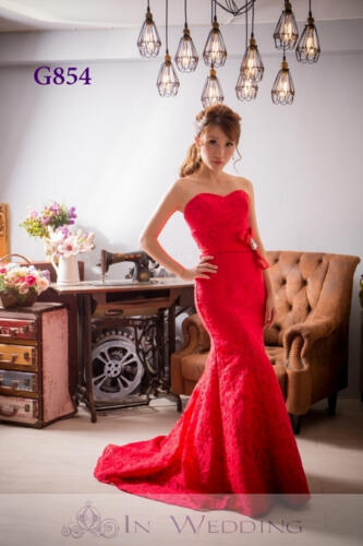 InWedding evening dress G854