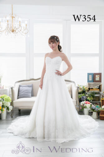 InWedding wedding gown W354B