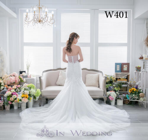 InWedding wedding gown W401A