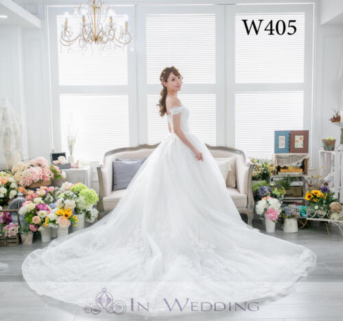 InWedding wedding gown W405A