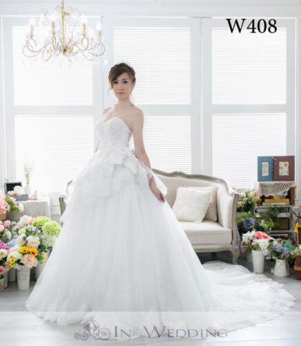 InWedding wedding gown W408B