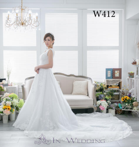 InWedding wedding gown W412B